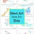 Hand Art Ideas Kids Craft