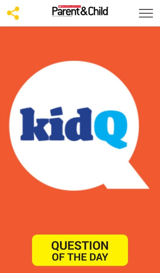KidQ App Scholastic Parent Child