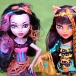 Monster High Freaky Fusion Dracubecca Cleolei