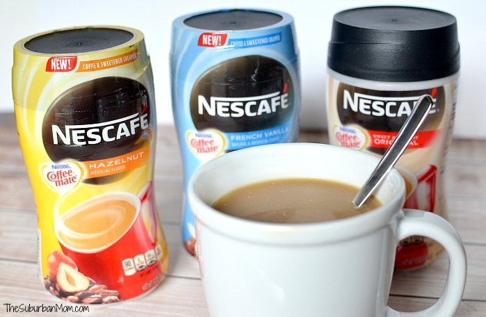 Nescafe With Coffee Mate Creamer