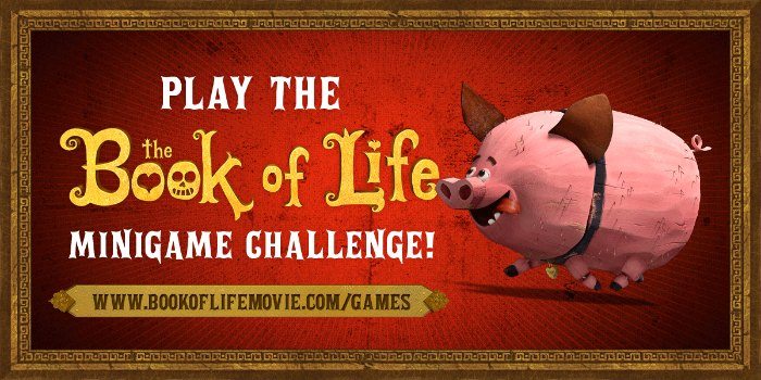 Book of Life Mini Games