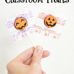 Easy Halloween Classroom Treats + Free Printable