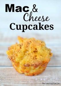 Mac & Cheese Cupcakes