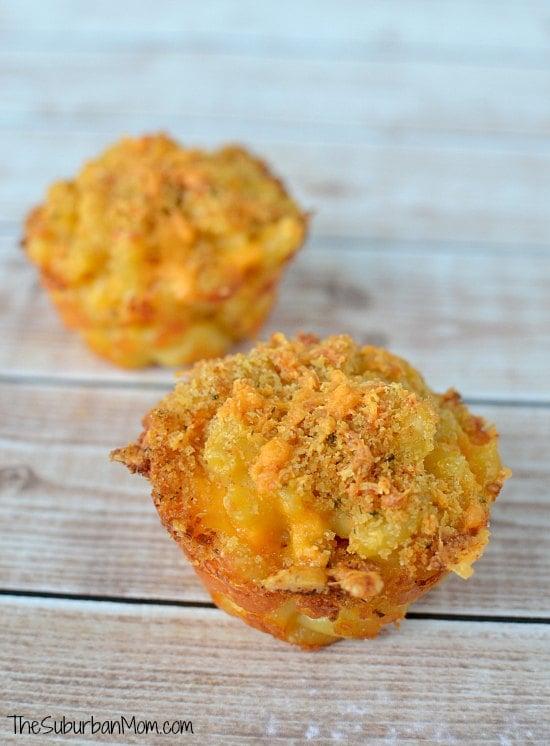 Macoroni and Cheese Cupcakes