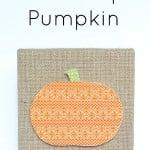Washi Tape Pumpkin Craft