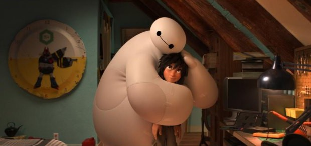Big Hero 6 Baymax Hiro