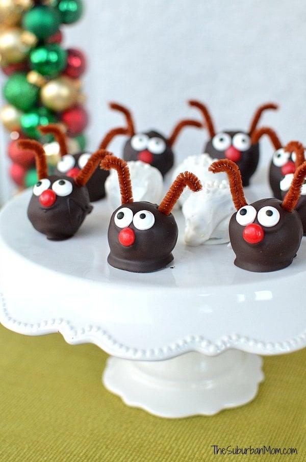 Christmas Oreo Cookie Balls