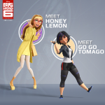 Honey Lemon Go Go Tomago Big Hero 6