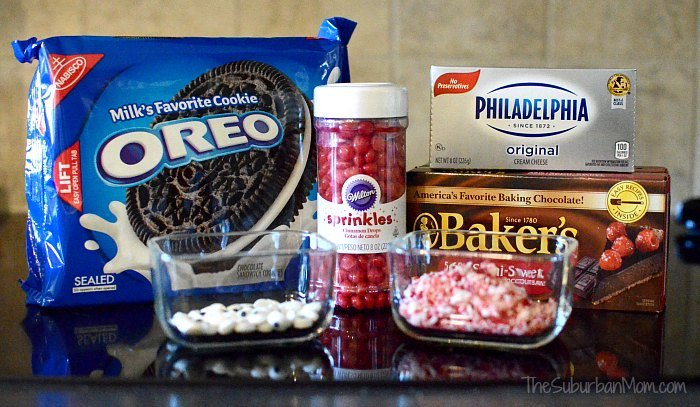 Oreo Cookie Balls Ingredients