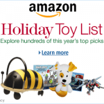 Amazon Holiday Toy List Lightning Deals November 19