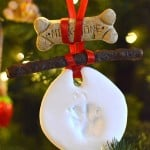 DIY Dog Ornament Christmas Gift