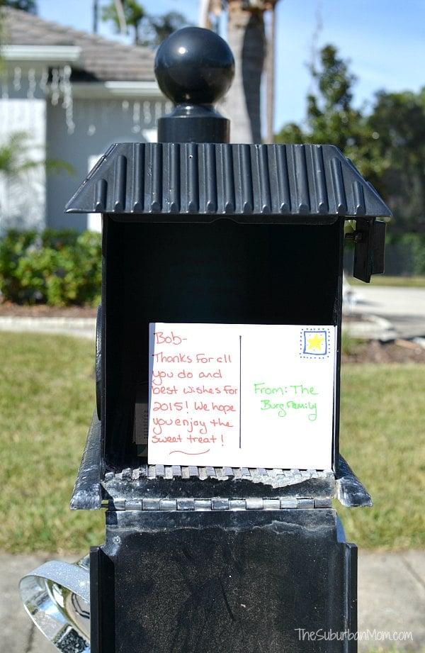 Easy Idea For Mailman Gifts - TheSuburbanMom