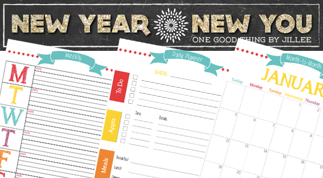 New Year Organization 2015 Calendar