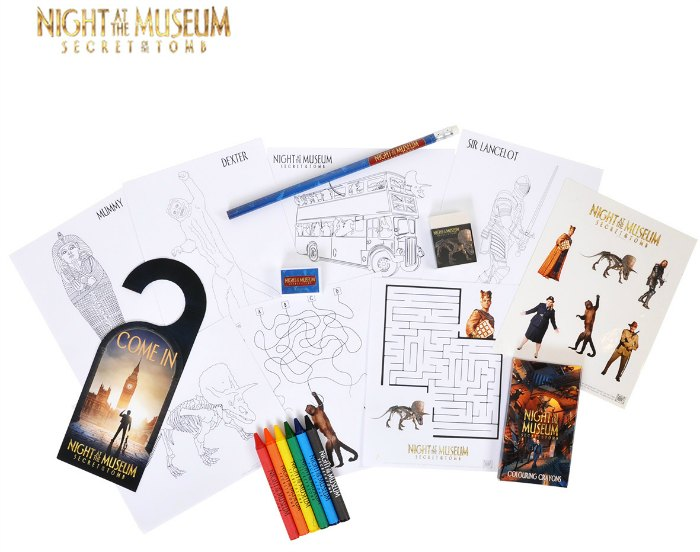 Night at the Museum Prize Pack