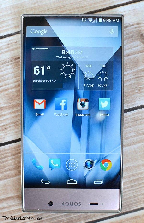 Sprint Sharp Smartphone Sprint Sharp Aquos Crystal