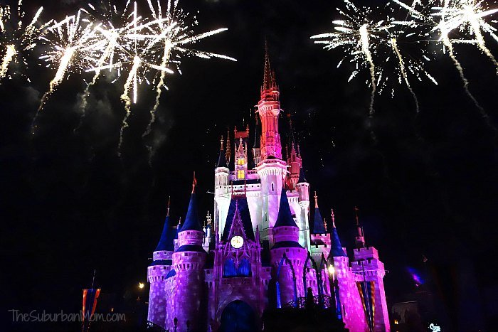 Disney Holiday Wishes Fireworks