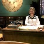 Marvel Agent Carter Set Visit