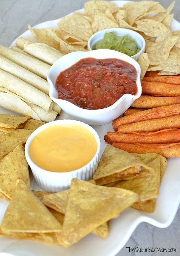 Mexican Party Platter Ideas
