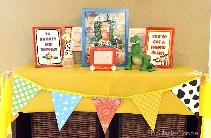 Toy Story Decorations Picture Frame