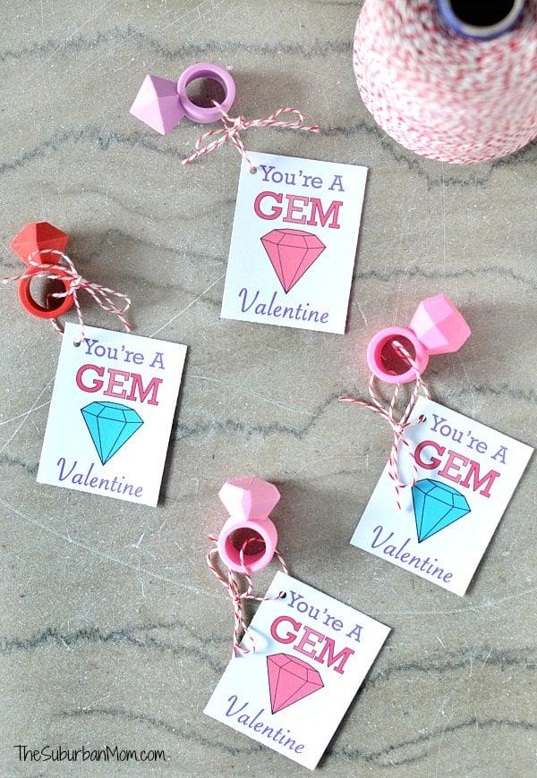 Printable Classroom Valentine's
