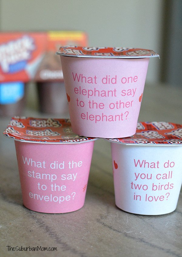Valentine's Day Lunch Box Jokes Printables