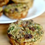 Broccoli Sun Dried Tomato Egg Cups