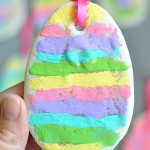 Salt Dough Easter Egg
