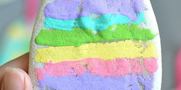 Salt Dough Easter Egg