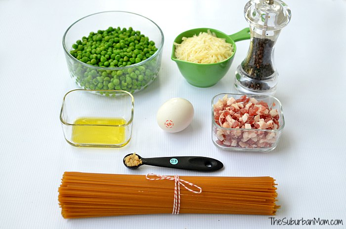Spaghetti Carbonara Recipe Ingredients