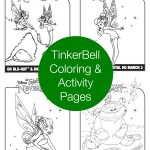 TinkerBell And The Legend Of The NeverBeast Coloring Pages And Word Search ~ Giveaway