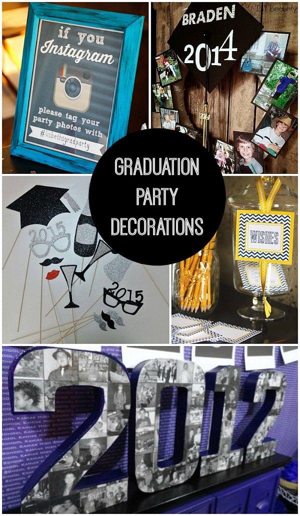 16 graduation party ideas for 2015 graduation decoration ideas