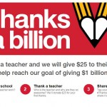 Target Thanks A Billion Will Donate $25 To Your School