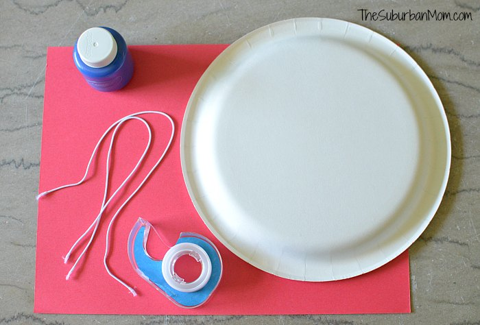 4th of July Crown Materials & 4th of July Paper Plate Crown