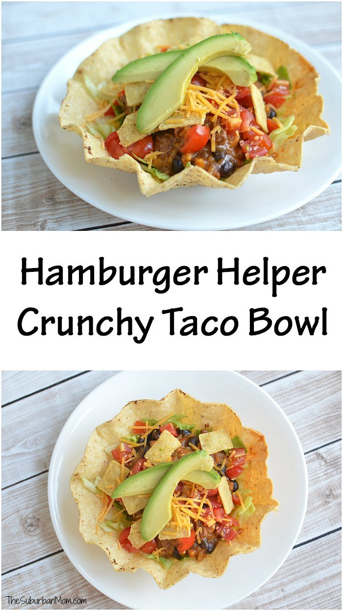 Hamburger Helper Crunchy Taco Bowl