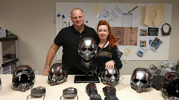 Marvel Ant-Man Costume Designers
