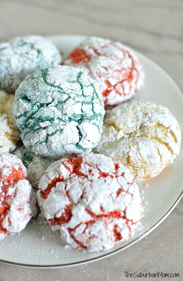 Crackle Cookies From Cake Mix