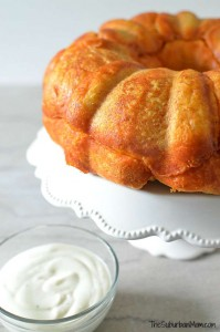 Buffalo Chicken Monkey Bread Recipe