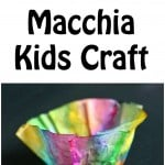 Chihuly Macchia (Glass Bowls) Kids Craft