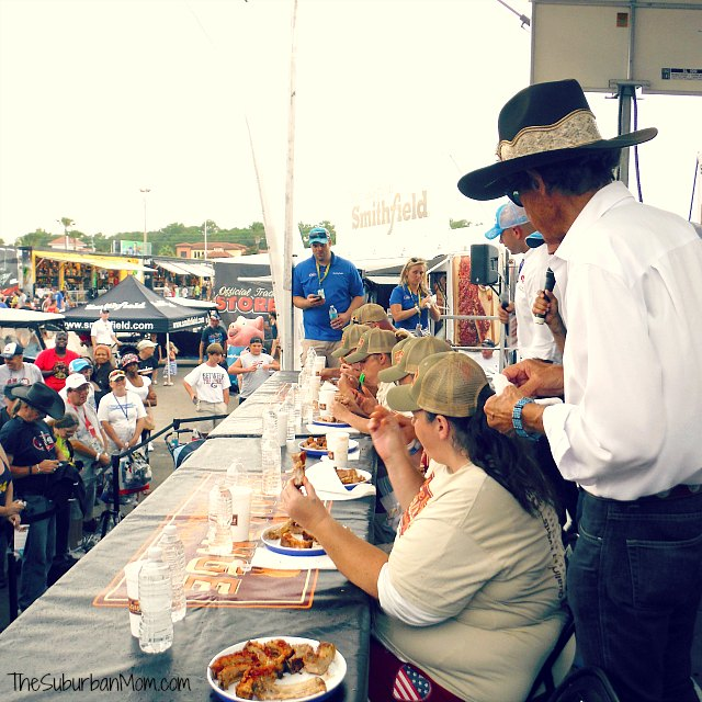 Smithfield Whole Hog Challenge Richard Petty