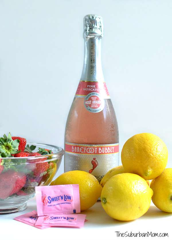 Strawberry lemonade mimosa for How many mimosas per bottle of champagne