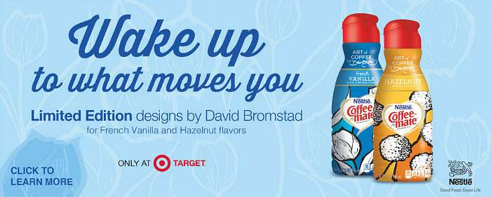 Target Coffee Mate David Bromstad