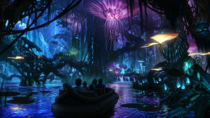 Avatar Land Animal Kingdom Rendering