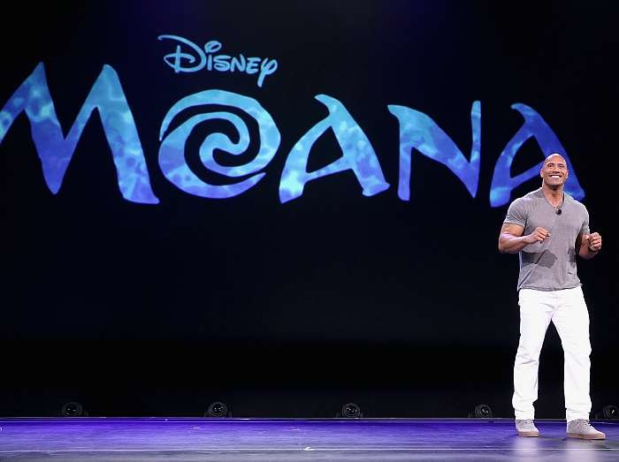 Disney Moana The Rock