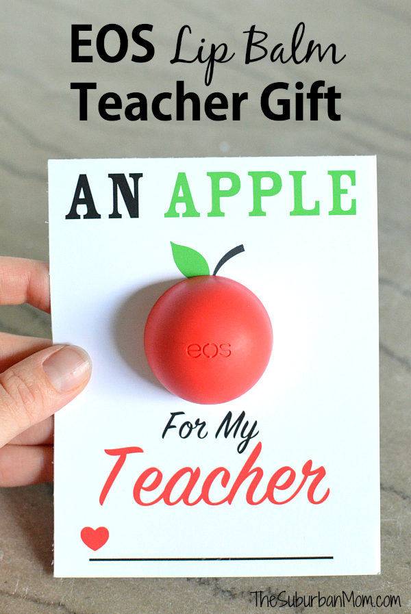 EOS Lip Balm Teacher Gift