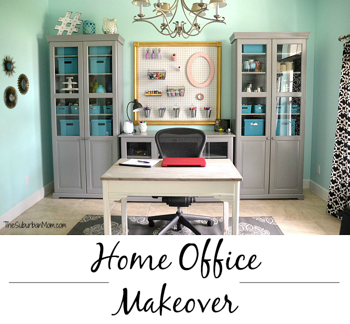 home office design tips. Tame Teal Home Office Makeover Tips Design T