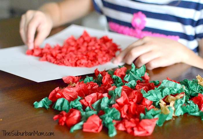 Preschool Tissue Paper Craft