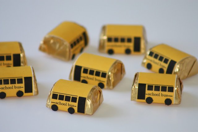 School Bus Chocolates
