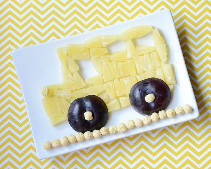 School Bus Food Art Snack