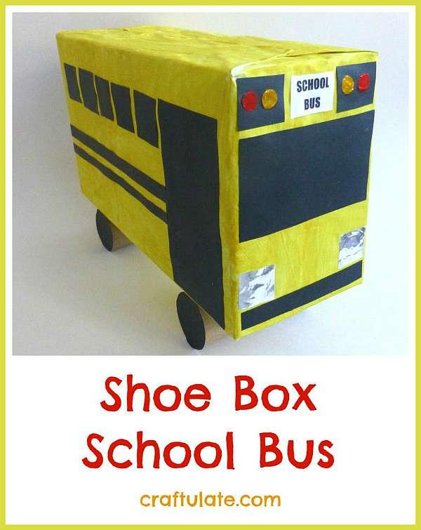 Shoe Box School Bus