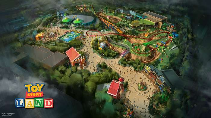 Toy Story Land Walt Disney World Rendering